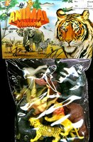 Wild Animal Playset (11pcs) (Bagged) 1/32 Playsets