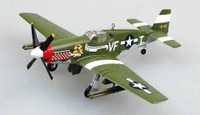 P-51B/C 336th FS/4th FG Capt. D. Gentile WWII (Built-Up Plastic) 1/72 Easy Model