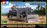 Komatsu G40 Japanese Navy Bulldozer 1/48 Tamiya