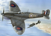 Supermarine Spitfire Mk Vc Malta Defender Fighter (w/Photo-Etch) 1/48 Special Hobby