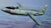 X-1B High Speed Reseach USAF Aircraft NACA Modification Program (w/Resin & Photo-Etch) 1/72 Special Hobby