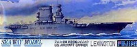 Aircraft Carrier Lexington Waterline 1/700 Fujimi