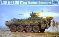LAV-III Tow Under Armor Vehicle (TUA) 1/35 Trumpeter