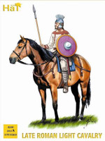 Late Roman Light Cavalry & Horses (24) 1/72 Hat