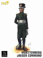 Napoleonic Wurttemberg Jaeger Command (18) 1/32 Hat