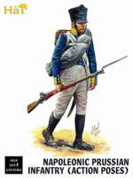 Napoleonic Prussian Infantry Action Poses (18 ) 1/32 Hat