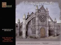 28mm Gothic City Building Small Set #2 (Plastic Kit) Pegasus