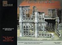 28mm Gothic City Building Ruins Set #1 (Plastic Kit) Pegasus