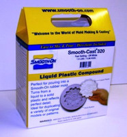Smooth Cast 320 Fast Setting Urethane Liquid Plastic Casting Compound 2-Part (Pint) Smooth On