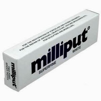 Superfine White 2-Part Self Hardening Putty Milliput