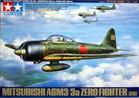Mitsubishi A6M3/3a (Zeke) Zero Fighter 1/48 Tamiya