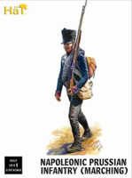 Napoleonic Prussian Infantry Marching (18) 1/32 Hat