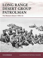 Warrior Long Range Desert Group Patrolman - Western Desert 1940-43 Osprey Books