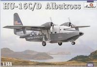 HU-16C/D Albatross US Navy Amphibian Aircraft 1/144 A-Model