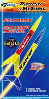 RTF Rascal & HiJinks Model Rocket Launch Set (no engines) Estes