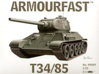 T-34/85 Tank (2) 1-72 Armour Fast