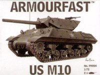 M-10 Tank (2) 1-72 Armour Fast