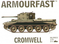 Cromwell Tank (2) 1-72 Armour Fast
