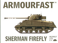 Sherman Firefly Tank (2) 1-72 Armour Fast