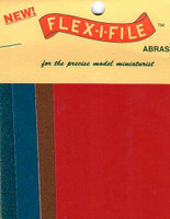 Flex-I-File Abrasive Sheets Set (8) FLEX-I-FILE
