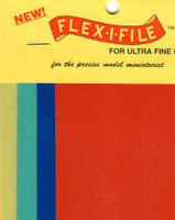 Flex-I-File Abrasive Sheets Set for Ultra-Fine Finishes (8) FLEX-I-FILE