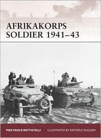 Warrior Afrika Korps Soldier 1941-43 Osprey Books