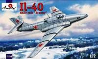 Ilyushin IL-40 Brawny 2-Seater Soviet Jet Aircraft 1/72 A-Model