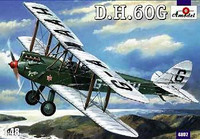 DeHavilland DH-60G 2-Seater Gipsy Moth BiPlane 1/48 A-Model