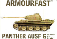 Panther Ausf G Tank (2) 1-72 Armour Fast