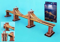 Brooklyn Bridge (New York, USA) (35pcs) Cubic Fun