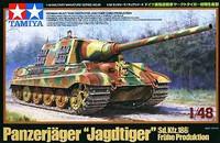 Jagdtiger SdKfz 186 Early Production Heavy Tank Destroyer 1/48 Tamiya