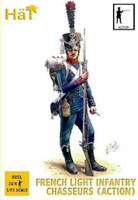 Napoleonic French Chasseurs Action (32) 1/72 Hat