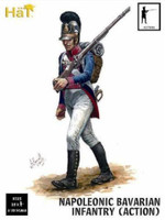 Napoleonic Bavarian Infantry Action (18) 1/32 Hat