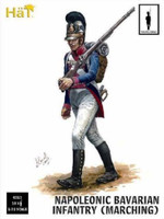 Napoleonic Bavarian Infantry Marching (18) 1/32 Hat