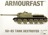 Su-85 Tank Destroyer (2) 1-72 Armour Fast
