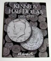 Kennedy Half Dollar 1985-1999 Cardboard Coin Folder
