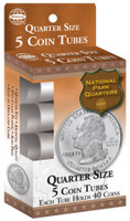 Nickels Coin Tubes (5/bx)