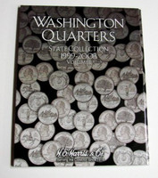 Vol.1, 1999 thru 2003 Washington State Quarters Cardboard Coin Folder