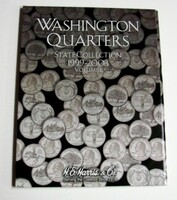 Vol.1, 1999 thru 2003 Washington State Quarters Cardboard Coin Folder