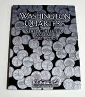 Vol.2, 2004 thru 2008 Washington State Quarters Cardboard Coin Folder