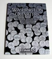 Vol.2, 2004 thru 2008 Washington State Quarters Cardboard Coin Folder