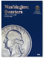 Washington Quarters 1965-1987 Coin Folder