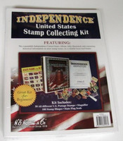 Independence US Stamp Collecting Kit