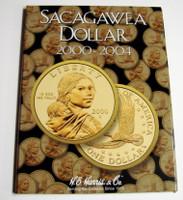 The Sacagawea Dollar 2000-2004 Cardboard Coin Folder