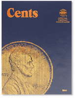 Cents Plain Coin Folder