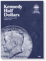 Kennedy Half Dollars Starting 2004 Coin Folder