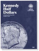 Kennedy Half Dollars Starting 2004 Coin Folder