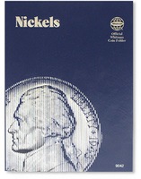 Nickels Plain Coin Folder