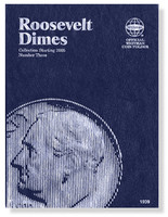 Roosevelt Dimes Starting 2005 Coin Folder