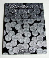 Washington Quarters District of Columbia & US Territories Collection 2009 Cardboard Coin Folder